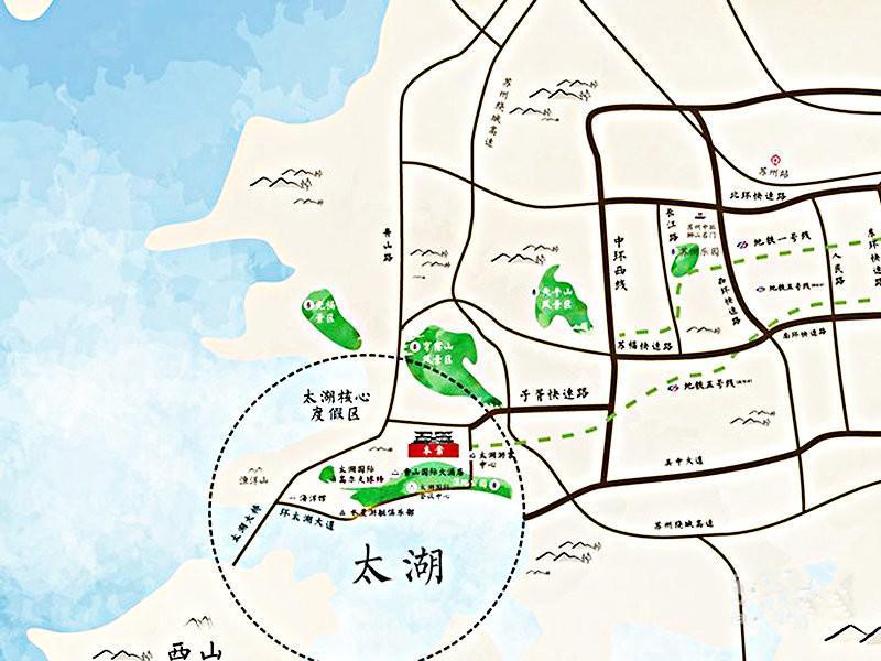 吴中区 香山 中旅水泊堂前