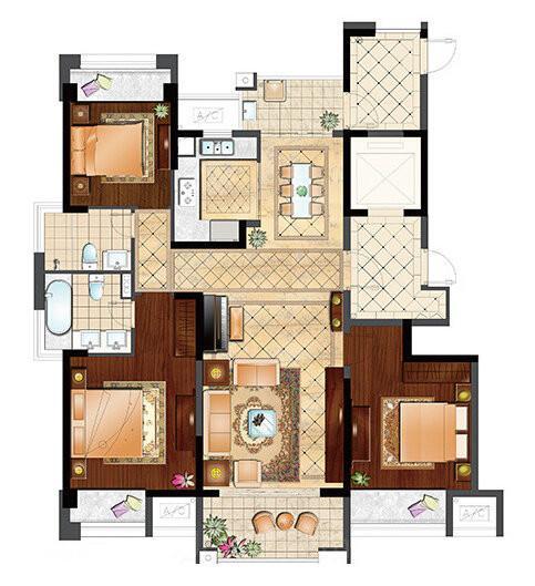 吴中区 郭巷 保利居上 出售 142.0平/米 3室2厅1卫 毛坯